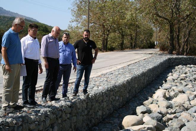 Έργα αποκατάστασης οδικού δικτύου Σαμοθράκης