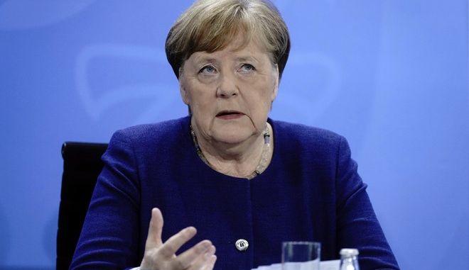 Η καγκελάριος της Γερμανίας Άγγελα Μέρκελ