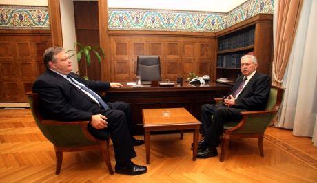 Οι δηλώσεις Κουβέλη μετά τη συνάντηση με τον  Βενιζέλο...