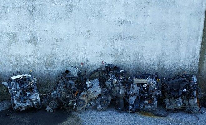 Θεσσαλονίκη: Πάνω από 160 κλεμμένοι κινητήρες αυτοκινήτων βρέθηκαν σε μάντρες