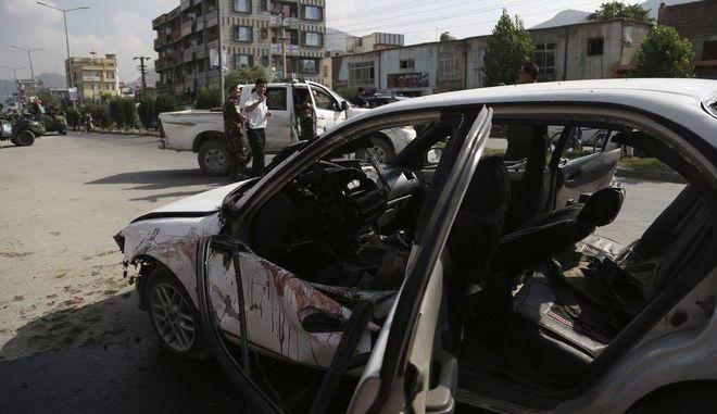 Έκρηξη παγιδευμένου αυτοκινήτου στο Αφγανιστάν