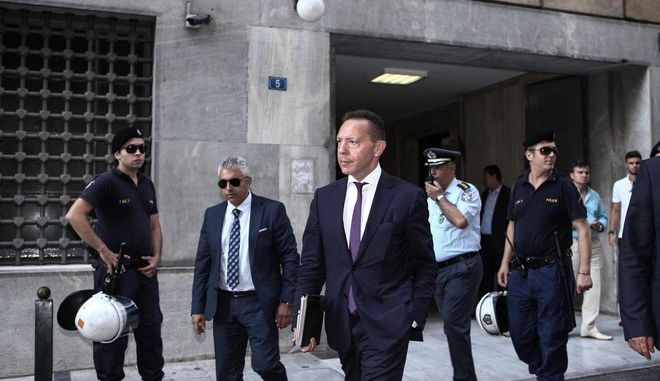 The represantatives of the European Institutions (European Central Bank, European Commission, IMF and EMS) visit the Bank of Greece, in Athens, July 31, 2015 /         ,  , 31 , 2015
