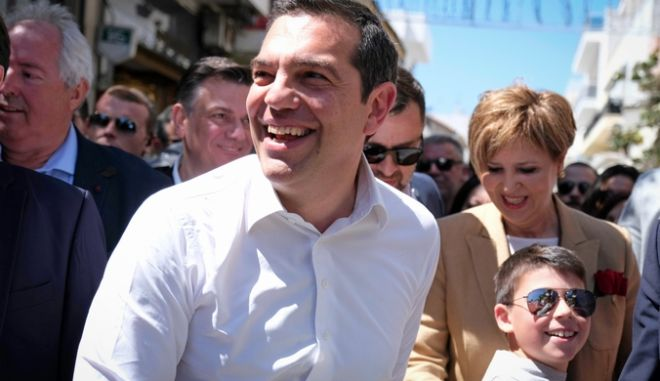 Περιοδεία στην πόλη της Άρτας από τον Πρωθυπουργό Αλέξη Τσίπρα το Σάββατο 11 Μαΐου 2019. (EUROKINISSI/ΓΡΑΦΕΙΟ ΤΥΠΟΥ ΠΡΩΘΥΠΟΥΡΓΟΥ/ANDREA BONETTI)