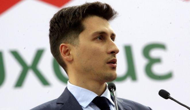 O εκπρόσωπος τύπου του ΚΙΝΑΛ Παύλος Χρηστίδης