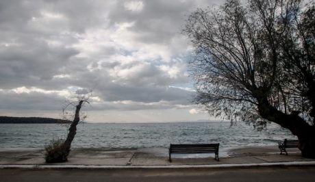Χειμωνιάτικο στιγμιότυπο από την Μηλίνα στο νότιο Πήλιο