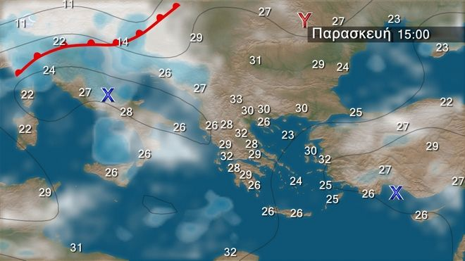 Βοριάδες 5-6 μπ. στο Αιγαίο την Παρασκευή – Θερμοκρασίες σε κανονικά επίπεδα