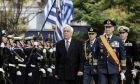 Δοξολογία για τον εορτασμό της Ημέρας των Ενόπλων Δυνάμεων στον Μητροπολιτικό Ναό Αθηνών παρουσία του Προέδρου της Δημοκρατίας Προκόπη Παυλόπουλου.