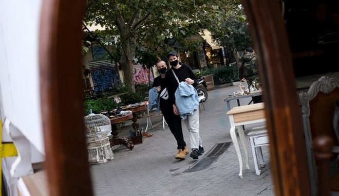 """Κορονοϊός - διασπορά: Στο """"πορτοκαλί"""" Βόρεια Ελλάδα και Λάρισα"""