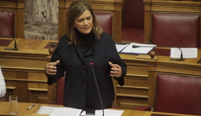 Συζήτηση επίκαιρων ερωτήσεων στην Βουλή την Πέμπτη 12 Ιανουαρίου 2017. (EUROKINISSI/ΓΙΩΡΓΟΣ ΚΟΝΤΑΡΙΝΗΣ)