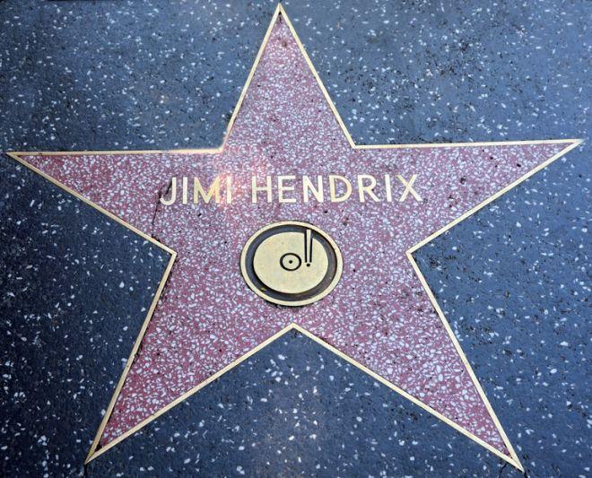 Το αστέρι στο Χόλιγουντ για τον Χέντριξ