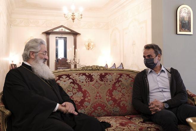 Από τη συνάντηση με τον Μητροπολίτη Αλεξανδρουπόλεως.