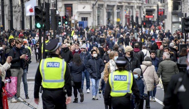 Εικόνα από το Λονδίνο σε καιρό κορονοϊού