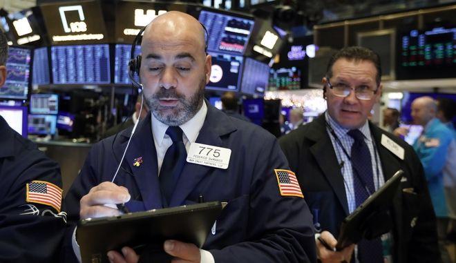 Στιγμιότυπο από το Χρηματιστήριο της Ν.Υόρκης
