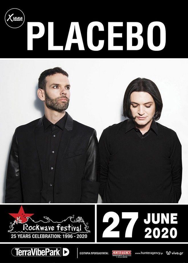 Οι PLACEBO στο Rockwave Festival 2020