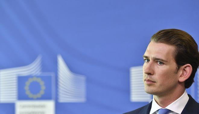 Ο συντηρητικός καγκελάριος της Αυστρίας Σεμπάστιαν Κουρτς