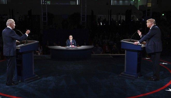 Το debate Τραμπ και Μπάιντεν
