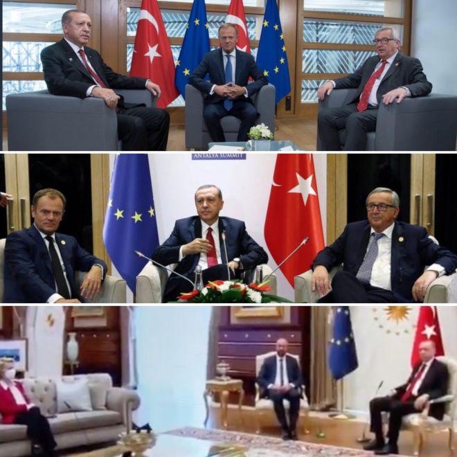 Οι σεξιστικές καρέκλες του Ερντογάν ξεγύμνωσαν την υποκρισία της ΕΕ