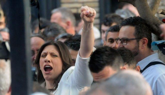 ΑΘΗΝΑ-Η Ζωή Κωνσταντοπούλου παρουσιάζει το νέο κόμμα της «Πλεύση Ελευθερίας»/PHASMA/Γ.ΝΙΚΟΛΑΙΔΗΣ