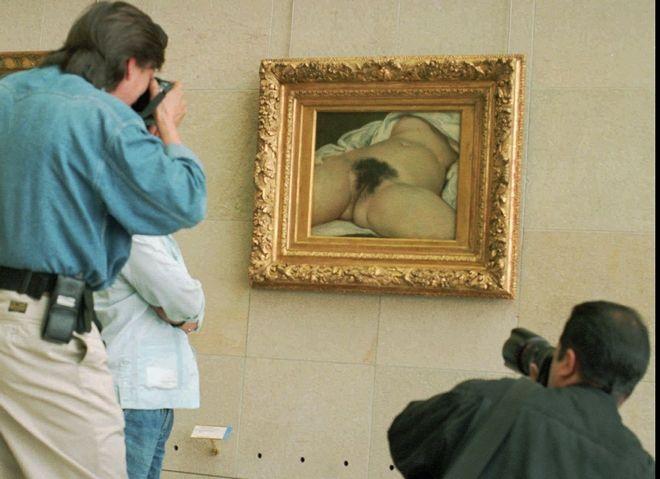 Το έργο του Gustave Courbet's (1866)