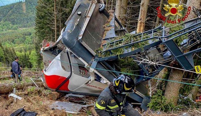 Δυστύχημα μετά από πτώση τελεφερίκ στην Ιταλία