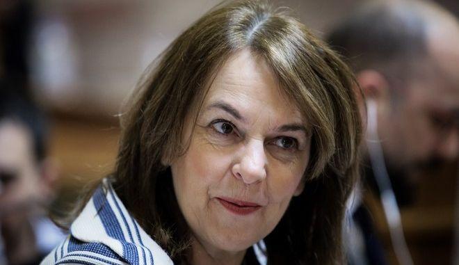 Η υφυπουργός Οικονομικών, Κατερίνα Παπανάτσιου