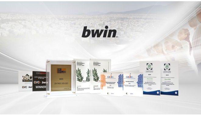 Bwin: Ένα παγκόσμιο brand με βραβεία και συνέπεια στο κοινωνικό έργο!