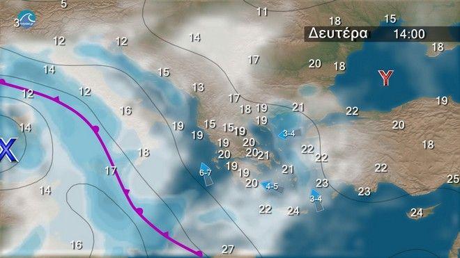 Καιρός: Έρχεται διπλό κύμα βροχοπτώσεων