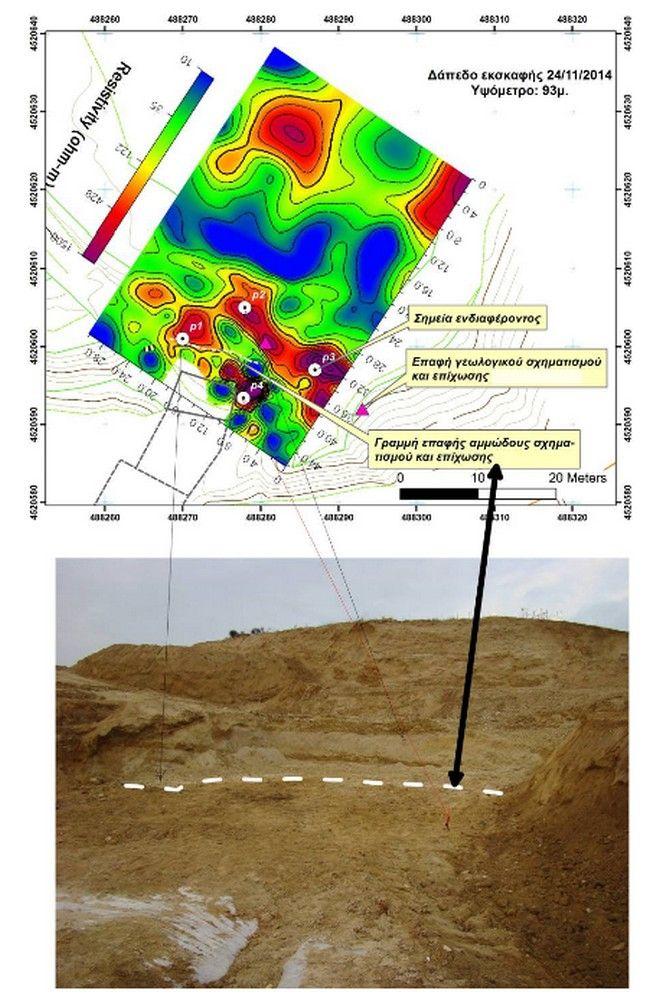 Αμφίπολη: Η γεωλογική χαρτογράφηση του λόφου Καστά