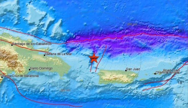 Σεισμός 6,3 Ρίχτερ ανοικτά του Πουέρτο Ρίκο