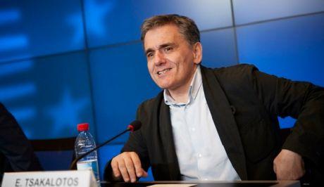 Δηλώσεις του υπουργού Οικονομικών Ευκλείδης Τσακαλώτου και του αναπληρωτή Γιώργου Χουλιαράκη για τα αποτελέσματα του Eurogroup.