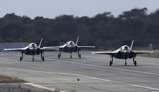 Αεροσκάφη F 35.