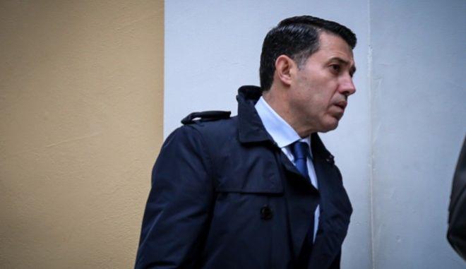 Ο Νίκος Μανιαδάκης στα δικαστήρια της οδού Ευελπίδων