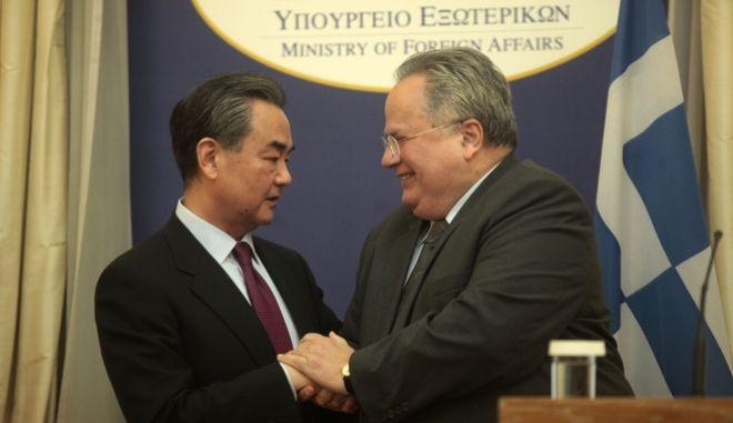 Κοτζιάς: Στρατηγικής σημασίας οι σχέσεις Ελλάδας - Κίνας