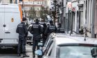 Police and bomb squad operation on Ixelles, in Brussels, on March 27, 2016 /     ,  Ixelles, ,  27 , 2016