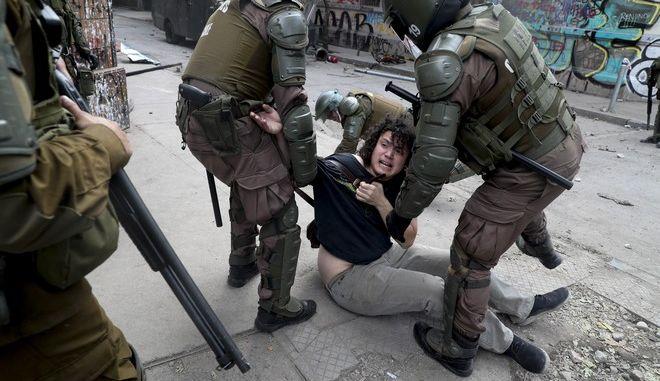 Αστυνομική βία στη Χιλή