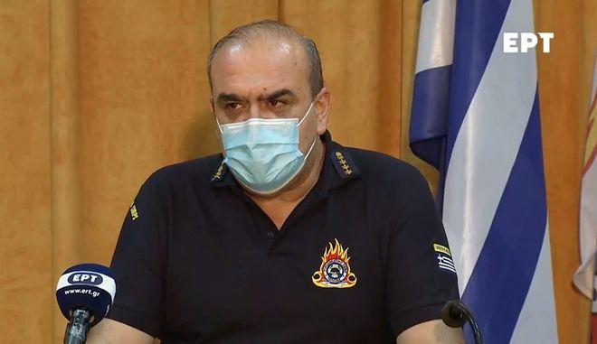 """Πύραρχος Παπαδόπουλος: """"Οι μετεωρολογικές συνθήκες θα μοιάζουν με αυτές στο Μάτι"""""""