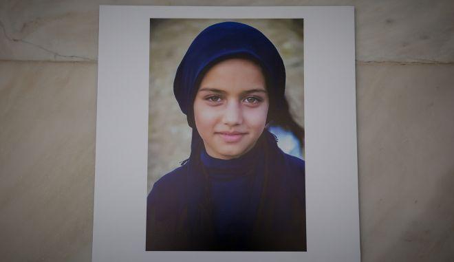 Έκθεση φωτογραφίας ασυνόδευτου προσφυγόπουλου από την Συρία που διαμένει προσωρινά σε δομή στην Χίο, φιλοξενείται στον Άρειο Πάγο με πρωτοβουλία της Εισαγγελέως του Ανωτάτου ΔΙκαστηρίου. (EUROKINISSI/ΒΑΣΙΛΗΣ ΡΕΜΠΑΠΗΣ)