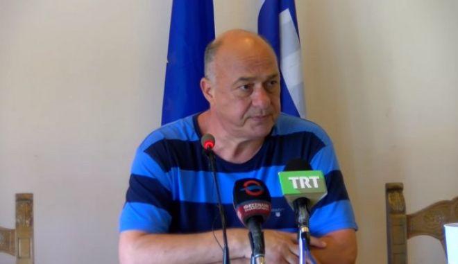 Ο δήμαρχος Βόλου, Αχιλλέας Μπέος