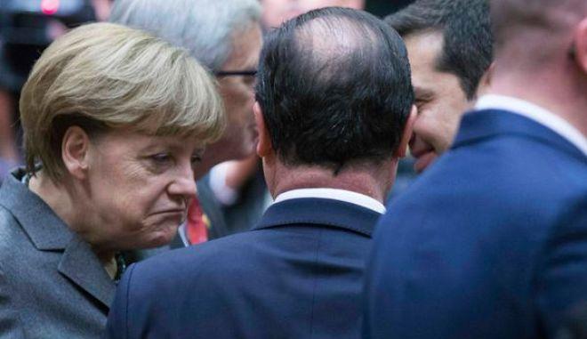 Ζάιμπερτ για συνάντηση Μέρκελ-Τσίπρα: 'Δεν αναμένουμε σήμερα λύση'