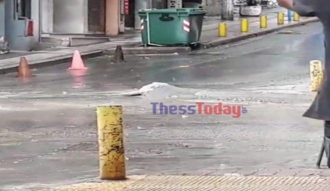 Κακοκαιρία στη Θεσσαλονίκη