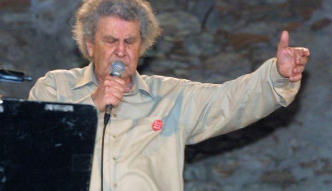 Συναυλία του Μίκη Θεοδωράκη στη Μακρόνησο