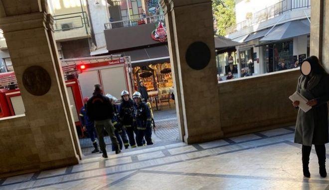 Έκρηξη στο δημαρχείο Ηρακλείου