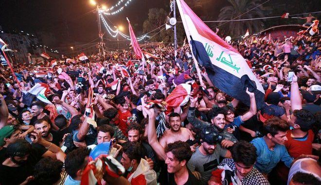 Διαδηλωτές στο Ιράν