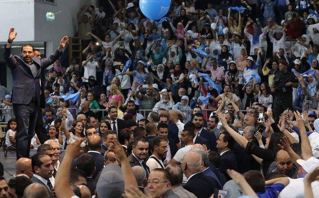 Σάαντ Χαρίρι σε προεκλογική του ομιλία - 1 Μαΐου