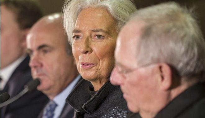 Υποψίες για 'συμπαιγνία' ΔΝΤ - Σόιμπλε