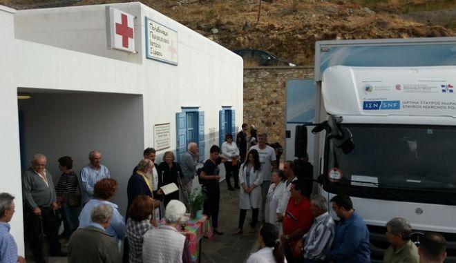 Δωρεάν εξετάσεις σε 432 άτομα στη Σέριφο από τις Κινητές Ιατρικές Μονάδες
