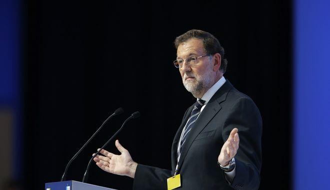 Ο πρωθυπουργός της Ισπανίας Μαριάνο Ραχόι