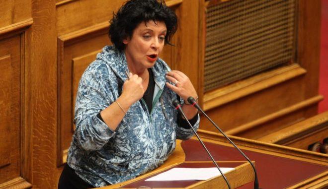 ΑΘΗΝΑ-Βουλή 2η μέρα - συζήτηση επί των προγραμματικών δηλώσεων της νέας κυβέρνησης// ΛΙΑΝΑ ΚΑΝΕΛΛΗ.(EUROKINISSI-ΓΙΑΝΝΗΣ ΠΑΝΑΓΟΠΟΥΛΟΣ)