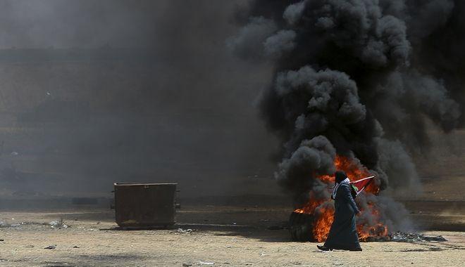 Ένταση στη Λωρίδα της Γάζας με αφορμή τα προ ημερών εγκαίνια της πρεσβείας των ΗΠΑ στην Ιερουσαλήμ
