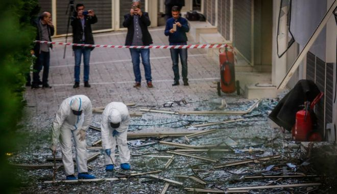 Από την έκρηξη προκλήθηκαν μόνον υλικές ζημιές